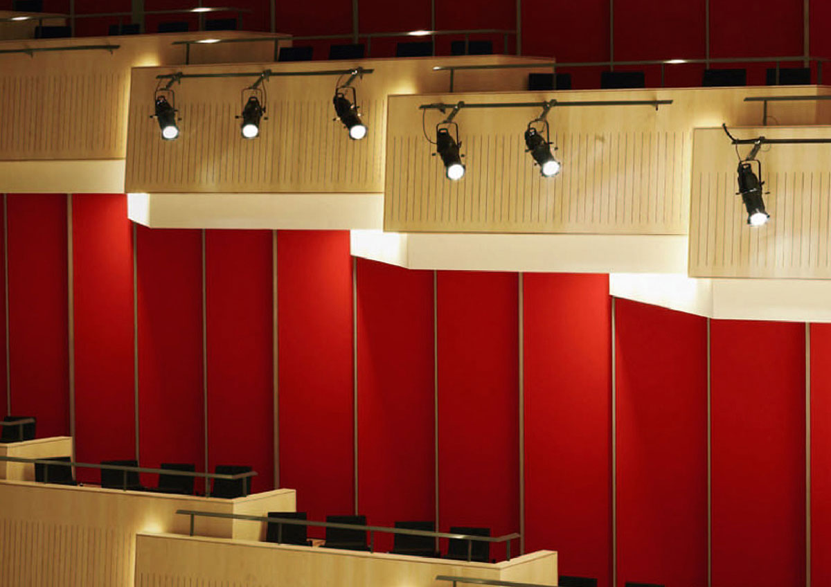 Aarhus Music Building Movable Acoustic Textile Wall